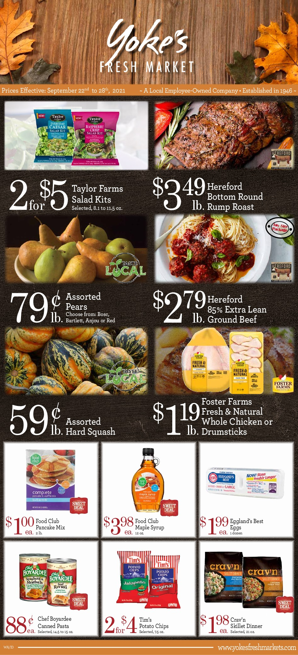 Page 1 of 09.22.21 Weekly Ad