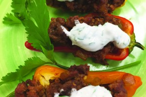 Mini Taco Peppers Recipe Image